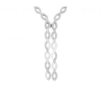 Cartier 'Délices de Cartier Diadéa' Diamond Necklace in 18K White Gold