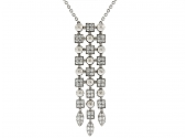 Bulgari 'Lucea' Diamond Pendant in 18K White Gold