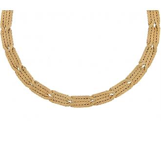 M. Buccellati Gold Necklace in 18K