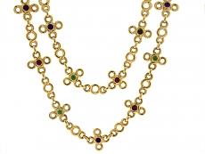 Chanel Multi-Gemstone Necklace in 18K