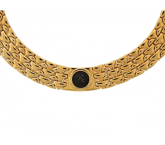 Bulgari Coin Choker Necklace in 18K