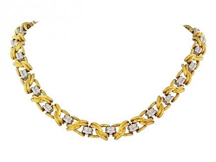 Henry Dunay Necklace in 18K and Platinum