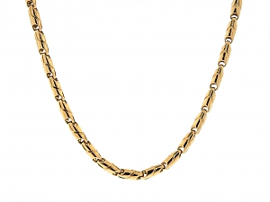 Bulgari Gold Link Necklace in 18K Gold