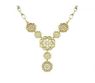 Slane and Slane Diamond Necklace in 18K Gold