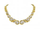 Diamond Necklace in 18K Gold