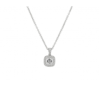 Tiffany & Co. Diamond Pendant in Platinum