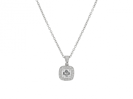 Tiffany & Co. Diamond Pendant in Platinum