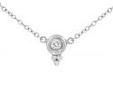 Temple St. Clair Diamond Pendant Necklace in Platinum