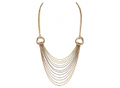 Cartier Trinity Tricolor Multistrand Necklace