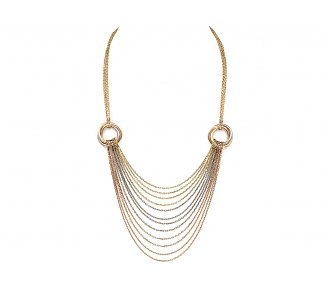 Cartier Trinity Tricolor Multistrand Necklace