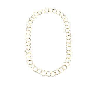Link Necklace in 18K Gold