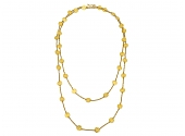 ARA Necklace in 24K Gold