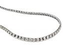 Waslikoff Art Deco Diamond Rivière Necklace in Platinum