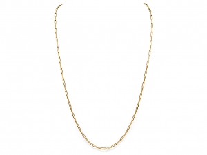 Italian Gold Chain Necklace, by Beladora