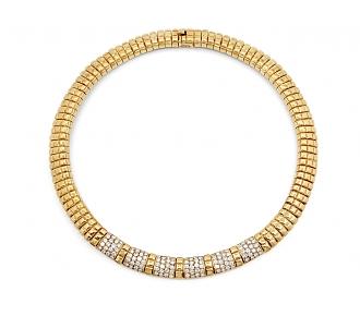 Van Cleef & Arpels Diamond and 18K Gold Necklace