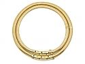 Cartier Retro Tubogas Diamond and Sapphire Choker in 18K Gold
