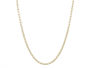 Italian Gold Link Chain, by Beladora