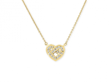 Tiffany & Co. Diamond Heart Pendant in 18K Gold