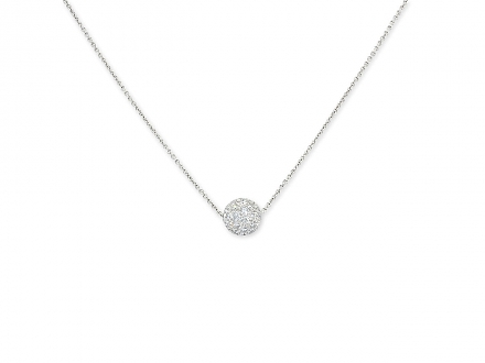 Tiffany & Co. Diamond 'Ball' Pendant in Platinum