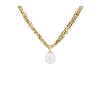 Tiffany & Co. Pearl Gold Chain in 18K Gold