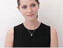 Tiffany 'Petal' Diamond Flower Necklace in Platinum, Medium Size
