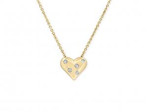 Tiffany & Co. 'Etoile' Diamond Heart Pendant in 18K Gold