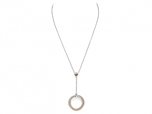 Cartier Diamond Trinity Necklace in 18K Gold