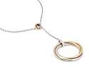 Cartier Diamond Trinity Necklace in 18K Gold