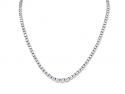 Diamond Rivière Necklace in Platinum