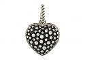 David Yurman Diamond 'Starlight' Heart Pendant in Silver