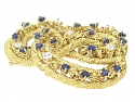 Tiffany & Co. Sapphire and Diamond Brooch in 18K