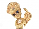 Ruser 'Monday's Child' Brooch in 14K