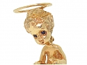 Ruser 'Sunday's Child' Brooch in 14K Gold