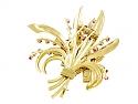 Van Cleef & Arpels Passe-Partout Flower Brooch in 18K