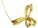 Van Cleef & Arpels Ribbon Brooch in 18K Gold
