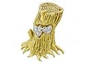 Cartier Aldo Cipullo Tree Brooch in 18K Gold