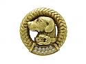 Kieselstein-Cord Dog Pin in 18K 'Green' Gold
