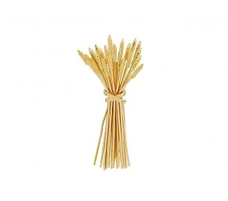 Wheat Brooch in 18K Gold
