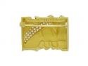 Kieselstein-Cord Geometric Diamond Brooch in 18K Gold