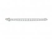 Cartier Art Deco Diamond Pin in Platinum