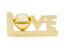 Cartier Aldo Cipullo Love Pin in 18K Gold