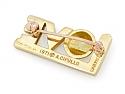 Cartier Aldo Cipullo Love Pin in 18K Gold