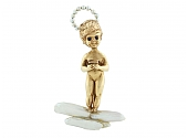 Ruser 'Sunday's Child' Angel Brooch in 14K