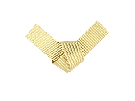 Tiffany & Co. Ribbon Brooch in 14K