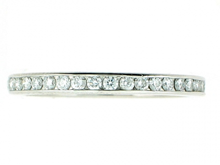 Tiffany & Co. Diamond Eternity Band in Platinum