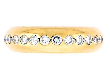 Chaumet Diamond Eternity Band in 18K