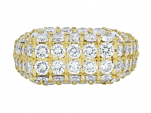 Jose Hess Diamond Ring in 18K Gold