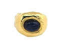 Jean Mahie Sapphire Ring in 22K Gold