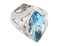 Stephen Webster Blue Topaz Ring in 18K
