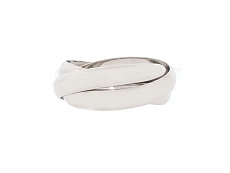 Cartier 'Trinity de Cartier' Rolling Ring in 18K White Gold
